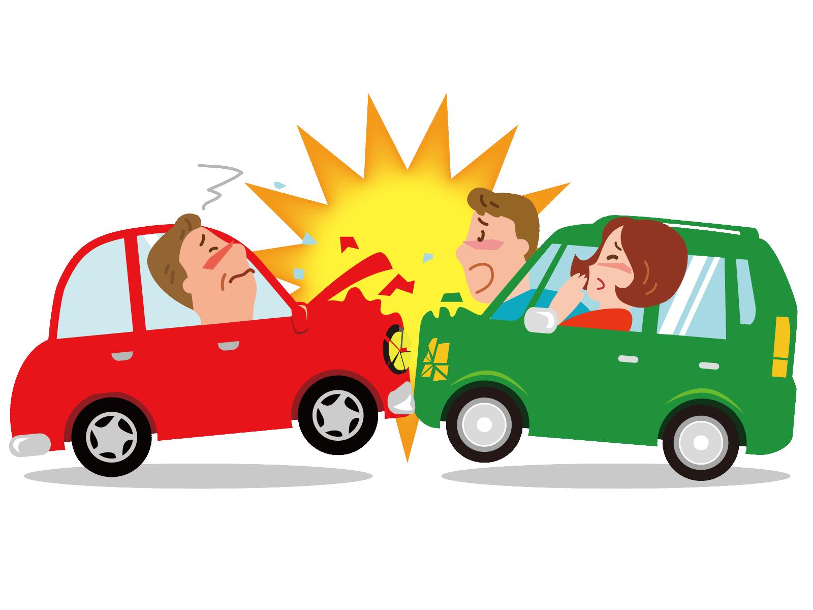 自動車同士の事故